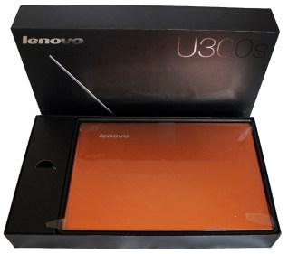 Lenovo IdeaPad U300s Ultrabook Inside the Box