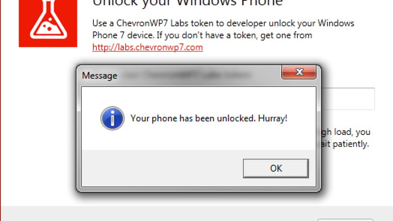 How to unlock your Windows Phone 7 device
