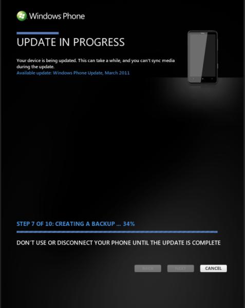 Windows Phone 7 NoDo Update