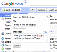 voice-sms