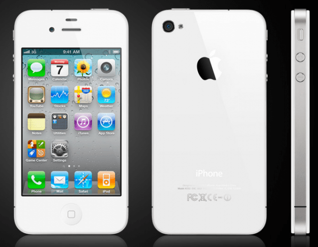 white iphone 4 released