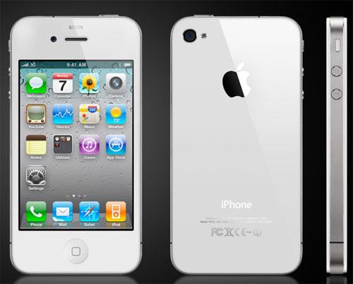 White iPhone 4