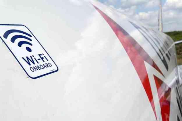 Delta Plane Wi-Fi On Board Decal