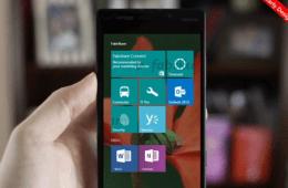 windows 10 for phones start screen