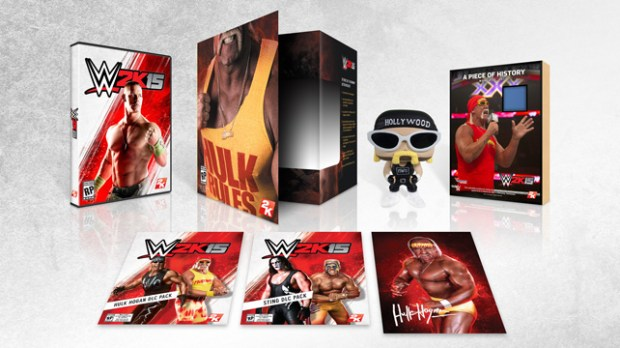 The sold out WWE 2K15 Hulkamania edition is selling for as much as $160 on eBay.
