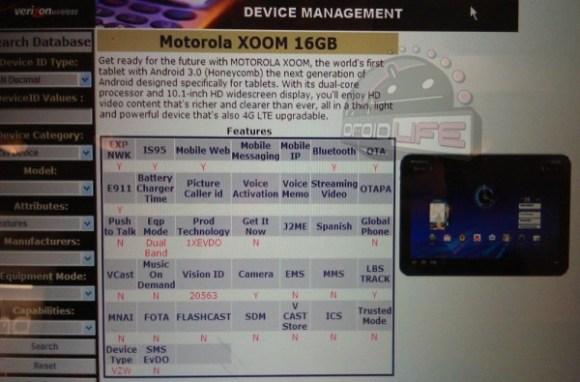 Motorola Xoom 16GB