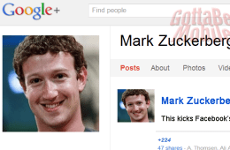zuckerberg really likes Google+