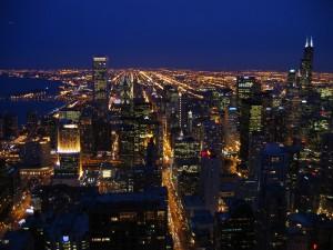 Image of Chicago skyline