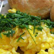 Image of egg scramble