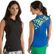 Image of Antigua sleeveless golf shirt designs