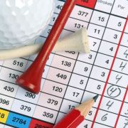 Image of golf scorecard