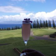 Image of cocktail at Kapalua Plantation Course