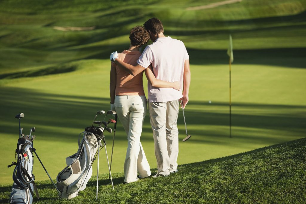 Lady golfers dating