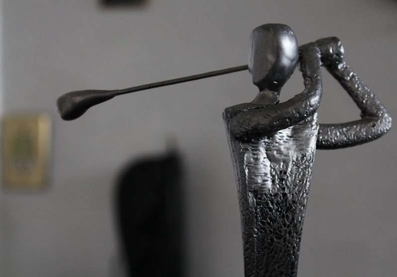 Image of golf trophy