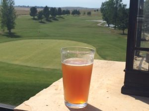 image of beer at course