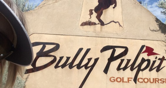 image of Lin at Bully Pulpit