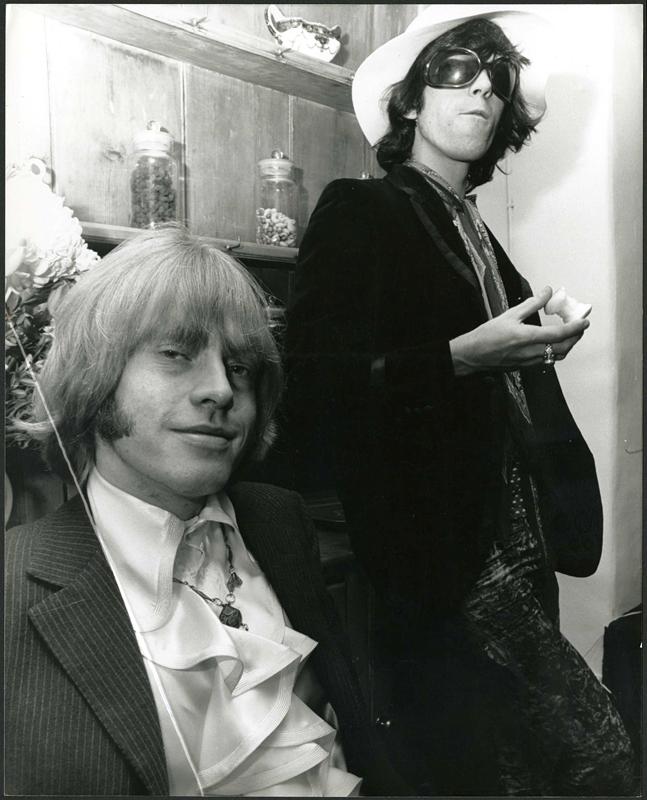 Lot Detail Brian Jones And Bill Wyman 1968 Vintage