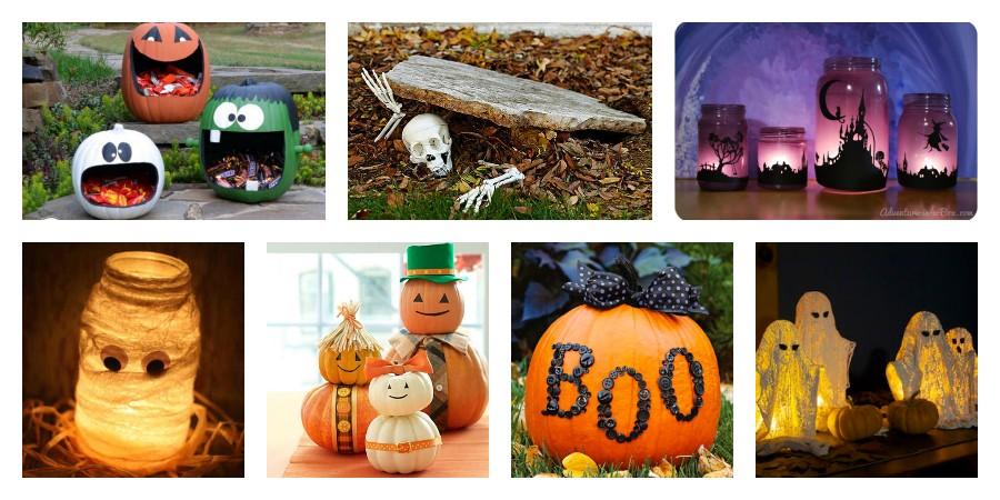 15 AWESOME Craft Project Ideas for Halloween Lovers & 5 Spooky DIY Halloween Decorations