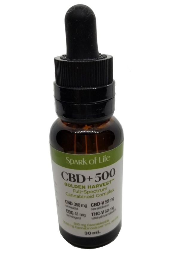 Golden Harvest - CBD Oil 30ml