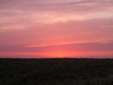 Levé de soleil au Cap-Ferret