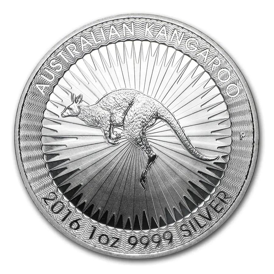 Kangaroo 1 troy ounce zilveren munt 2016