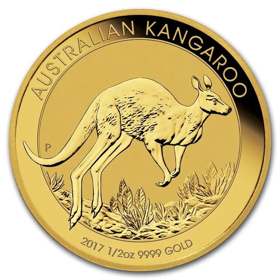 Kangaroo 1/2 troy ounce gouden munt 2017