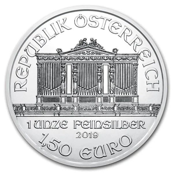 Philharmoniker 1 troy ounce zilveren munt 2019