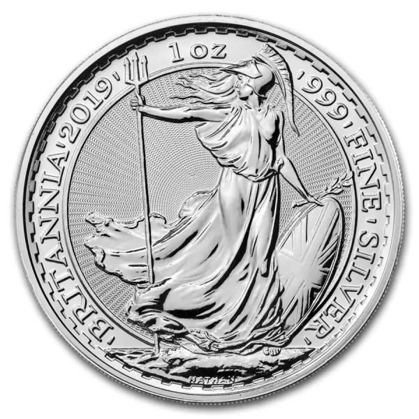 Britannia 1 troy ounce zilveren