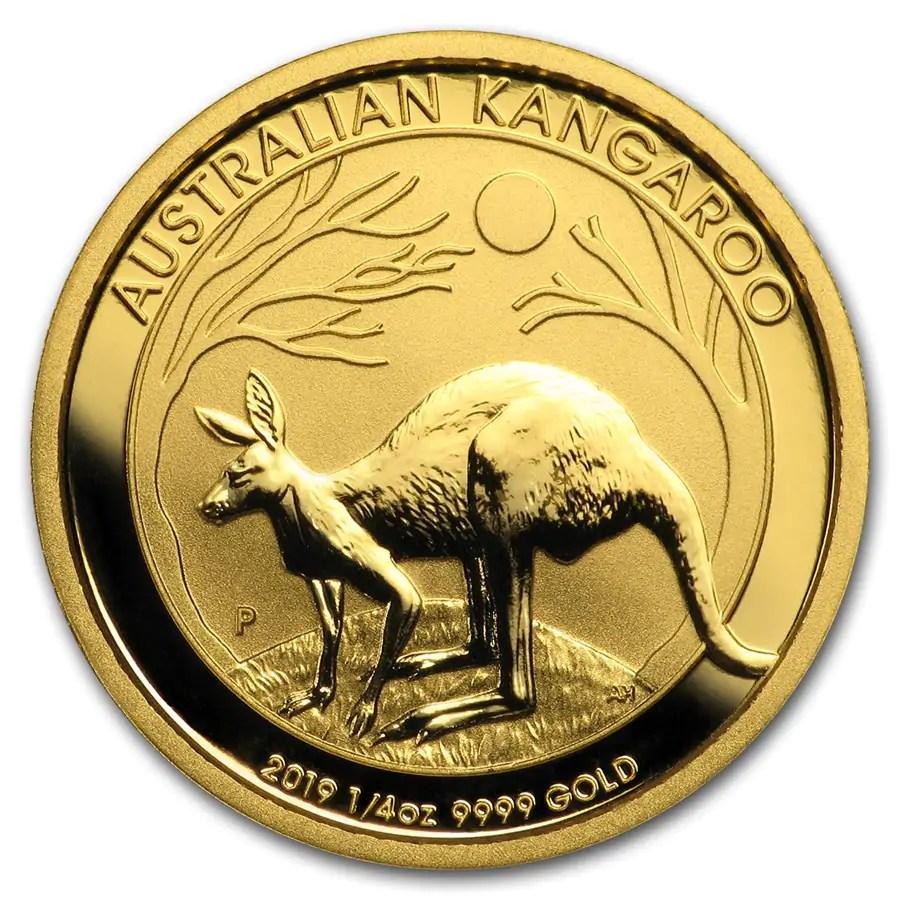 Kangaroo 1/4 troy ounce gouden munt 2019