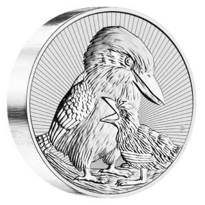 Australian Silver Kookaburra Piedfort 10oz