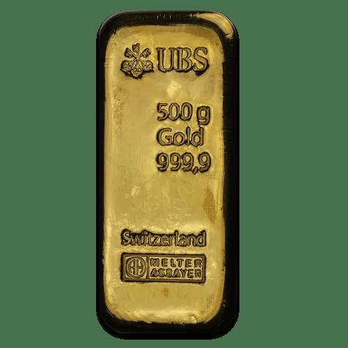 UBS gold 500 gram