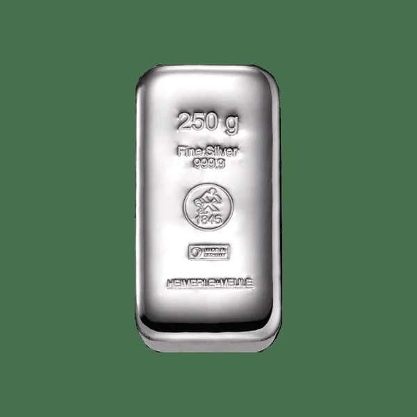 heimerle meule 250 gram zilver