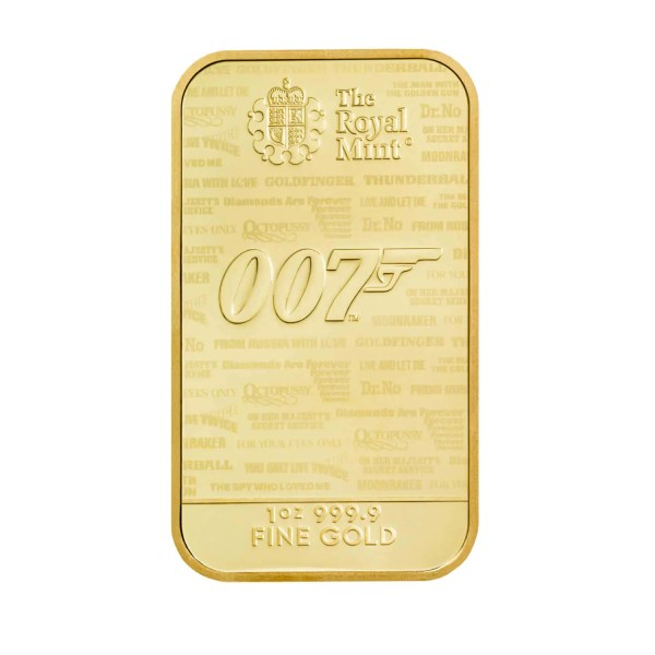 No time to die 1 troy ounce gouden munt