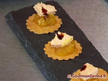croustillants de foie gras