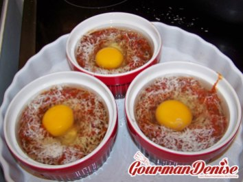 oeuf cocotte Italienne 3
