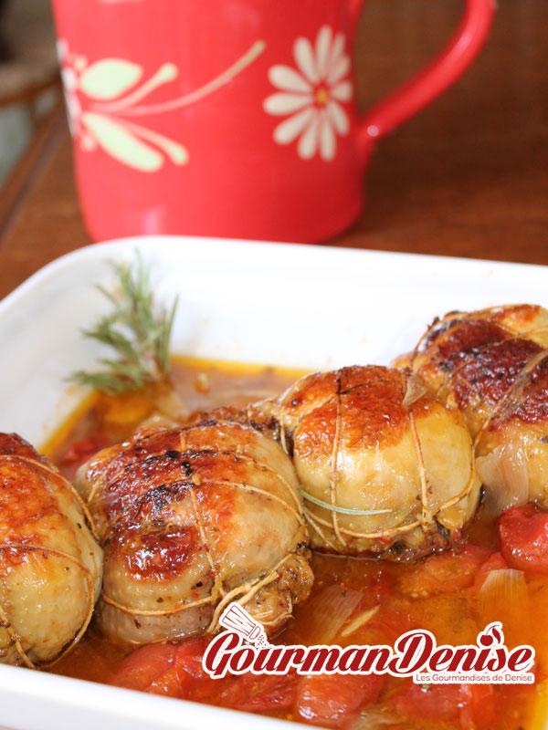 paupiette poulet risotto