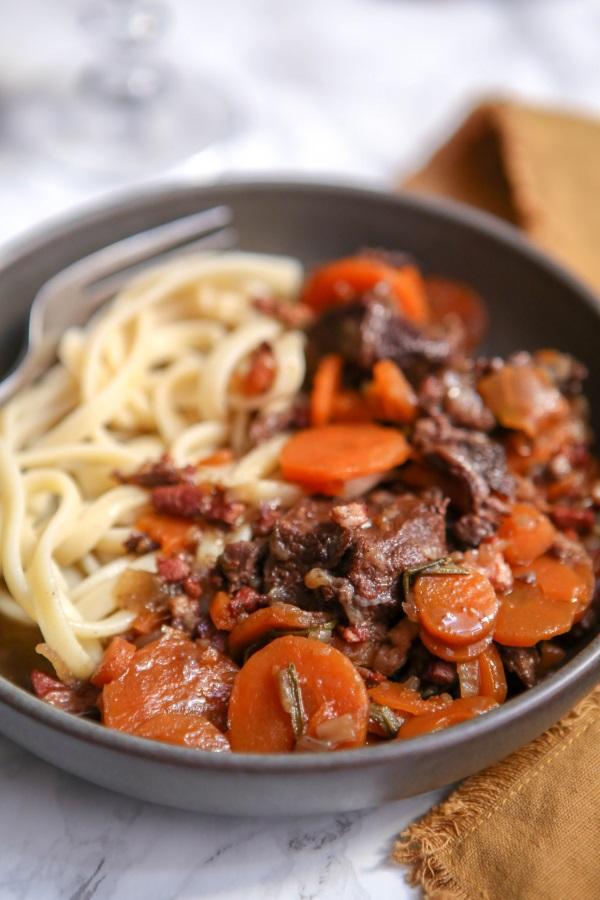 joue de bœuf aux carottes