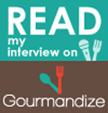 My interview on Gourmandize