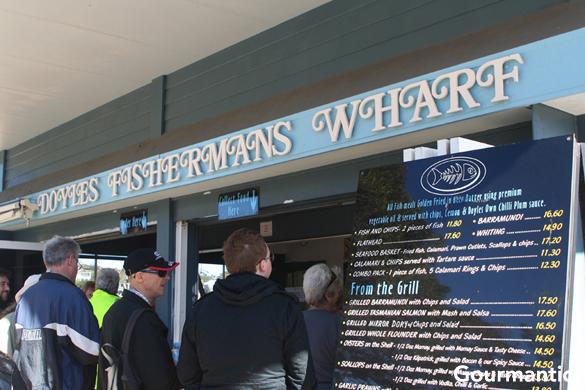 Seafood Near Fishermans Wharf