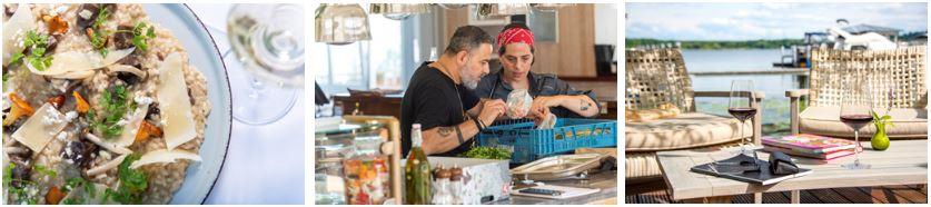 Schwielowsee: Küchenchef Ronen Dovrat Bloch im Harbour Restaurant