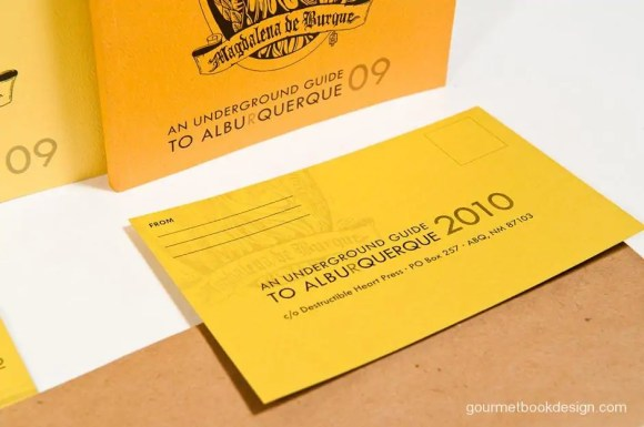 Cards were printed in-house and sent to legacy advertisers
