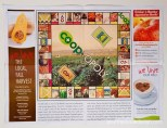 "image of ""Coop-opoly"" spread in Co-op newsletter"