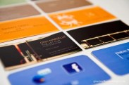 image of business cards
