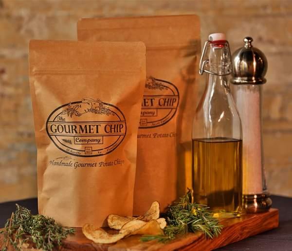 white truffle potato chips