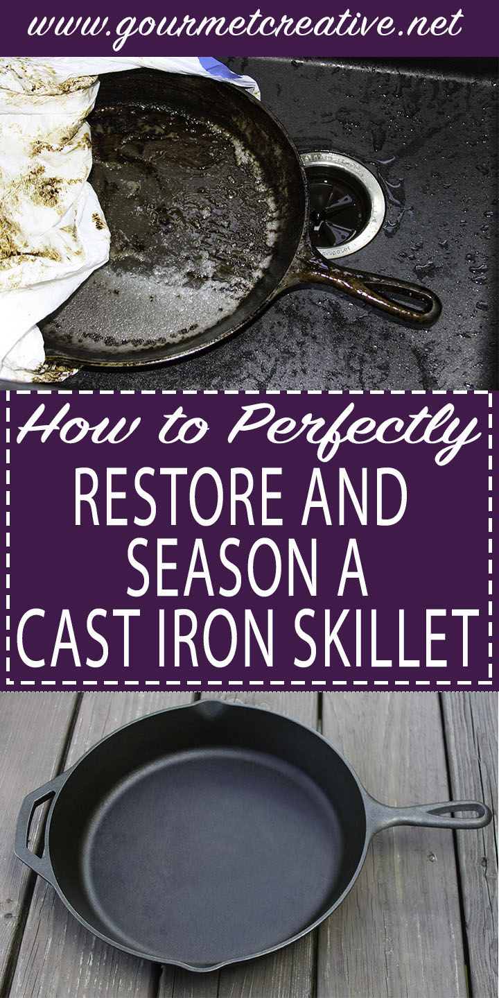 Cast Iron Pan How To Pinterest