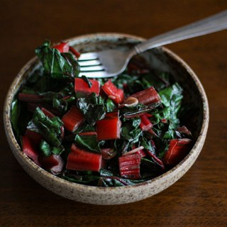 Wok-Fried Ruby Red Chard