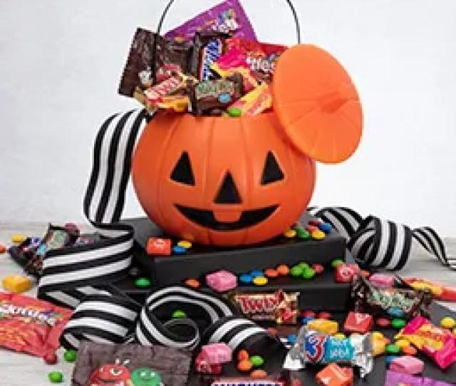Only Treats Halloween Gift Basket