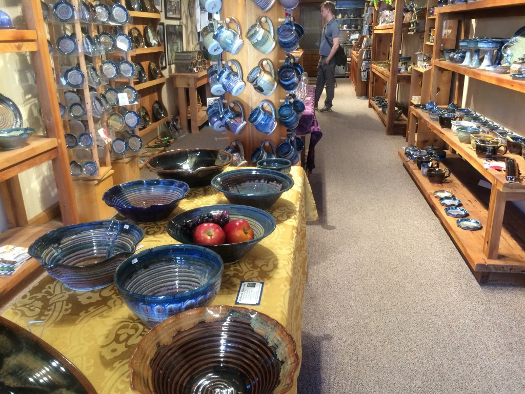 Holbrook Stoneware, another great shop on Main Street in Red Bluff