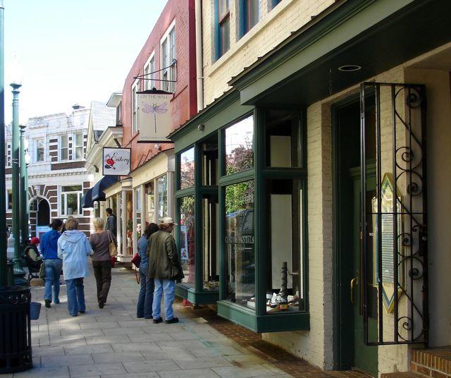 Downton Asheville shopping