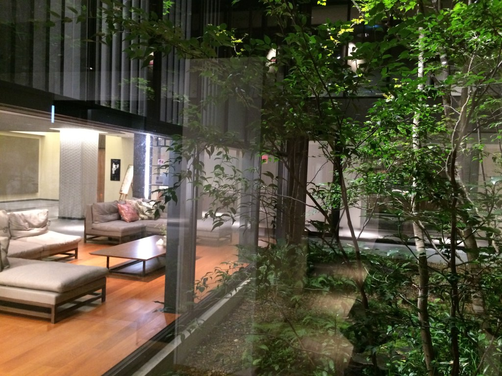 Lobby of the Mitsui Garden
